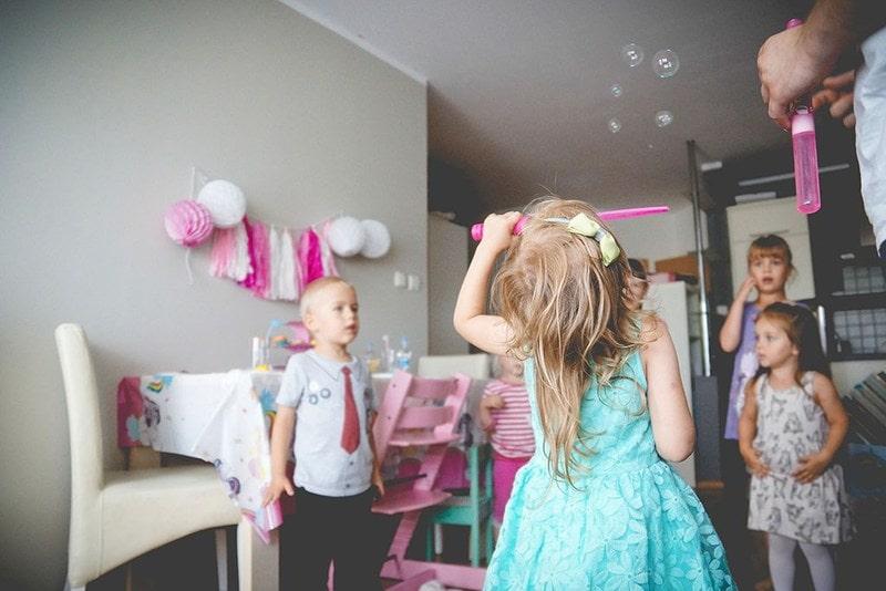 Projekt 365 blog parentingowy dzieci zabawa przyjęcie