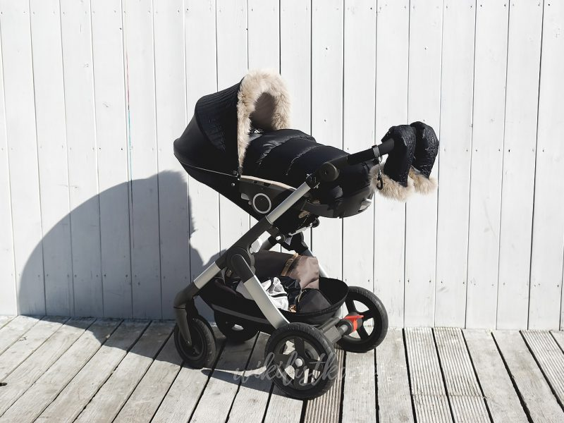 Stokke Trailz Winter Kit Onyxblack