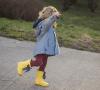 żółte kalosze, moda dziecięca, blog parentingowy