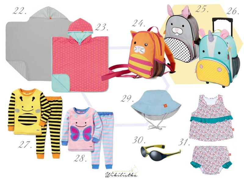 gadżety na plażę, skip hop, lassig, strój kąpielowy, okulary dla malucha
