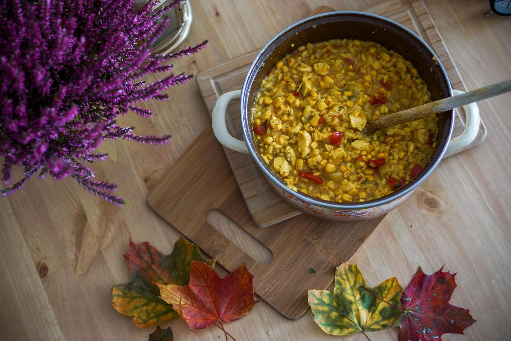 jesienne-risotto-kurczakiem-warzywami-parmezanem