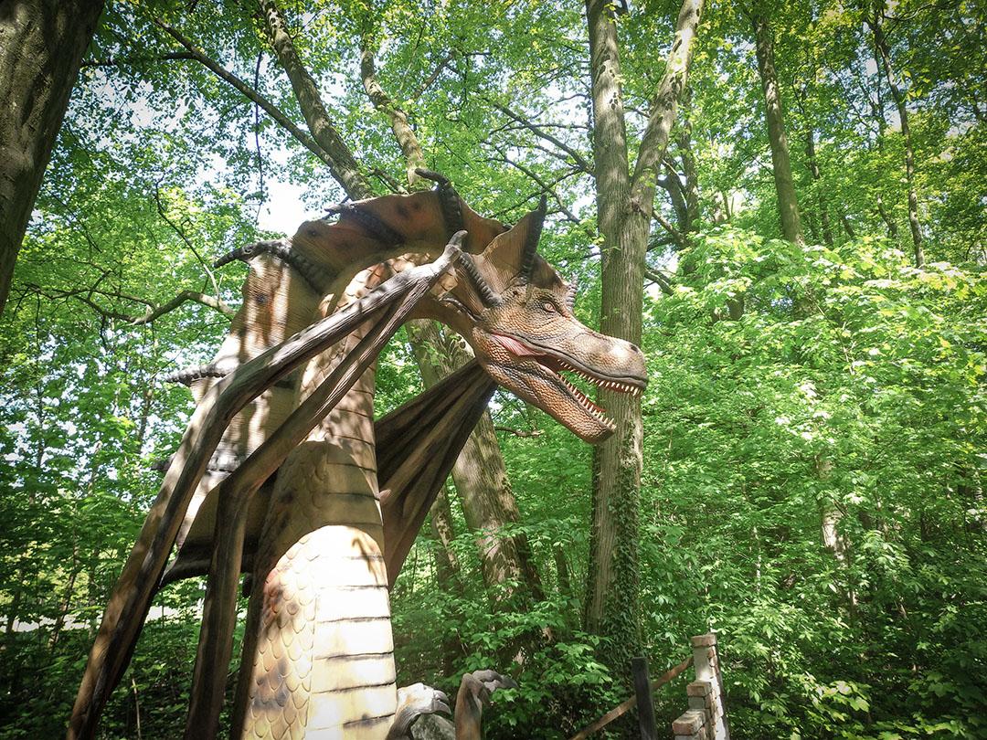 dinopark Malbork, park ruchomych dinozaurów i smoków