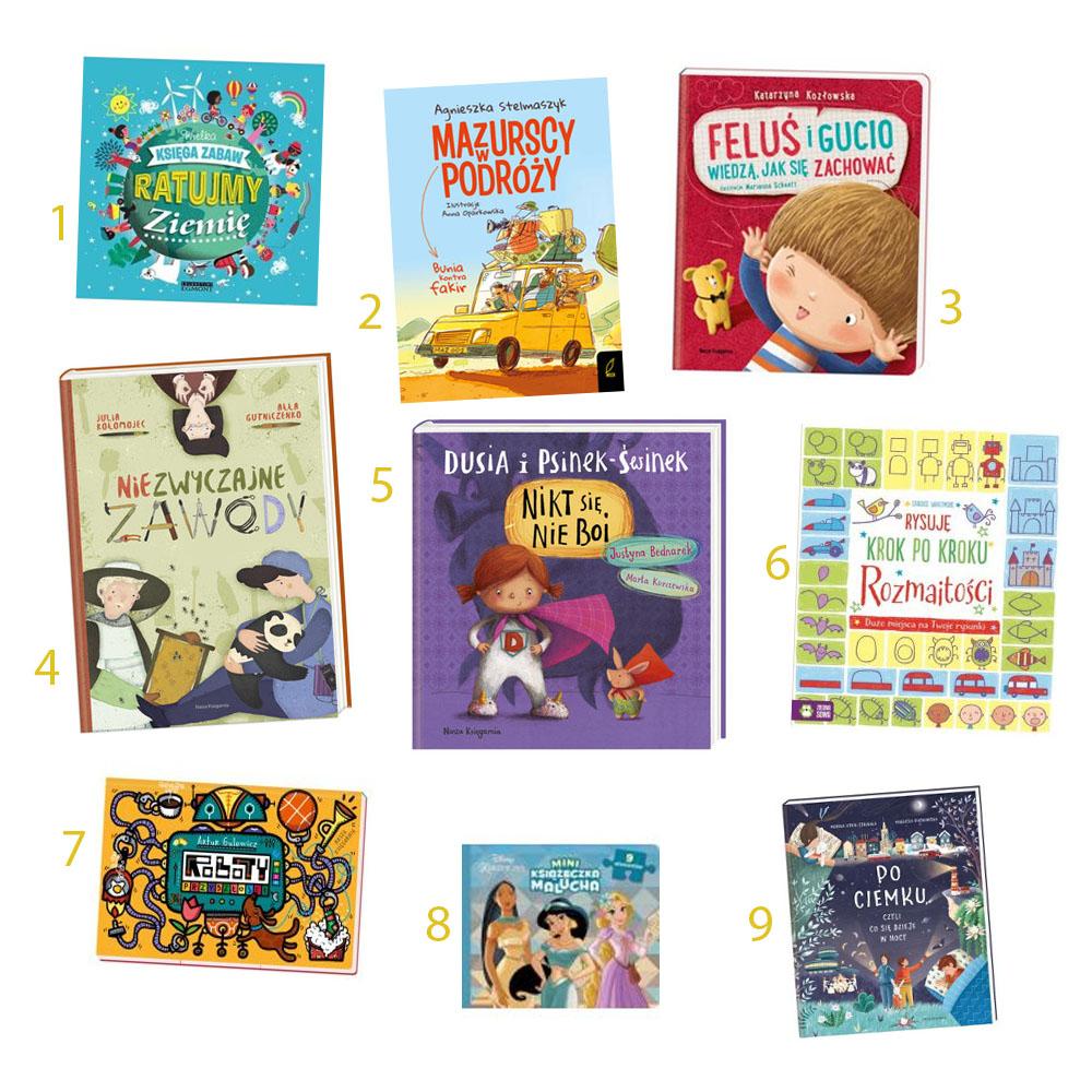 książki dla dzieci, książki na dzień dziecka, prezent na dzień dziecka, prezent dla dziecka, dzień dziecka 2019, co kupić dziecku na prezent