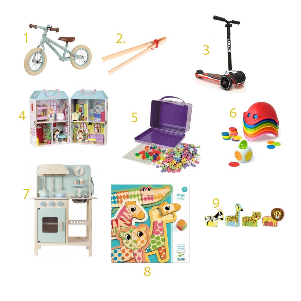 prezent na dzień dziecka, rowerek biegowy, hulajnoga, zamykany domek, kuchenka do zabawy