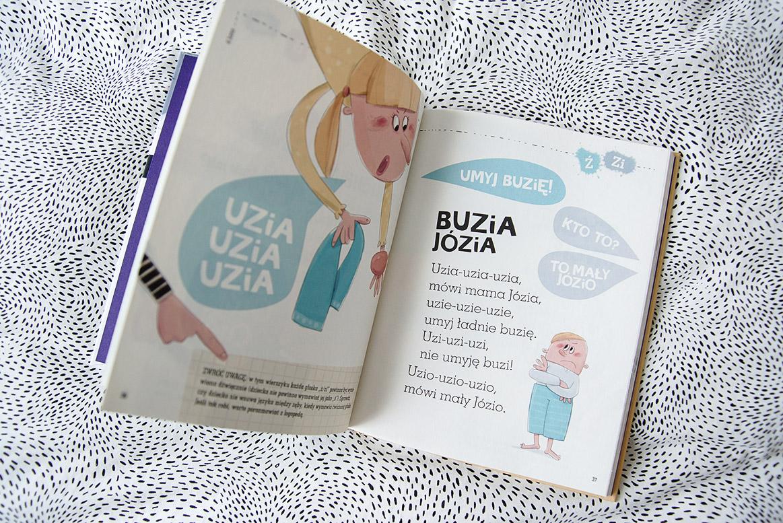 wierszyki ćwiczące języki książka dla 3 latka