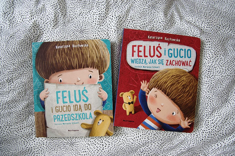 Feluś i Gucio wiedzą, jak się zachować książki dla 3 9 4 latka