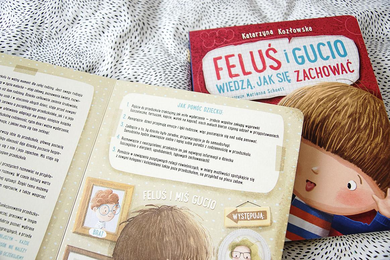 Feluś i Gucio idą do przedszkola książka dla 3 i 4 latka