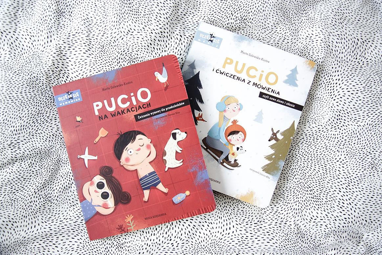 Seria książek z Pucio książki dla 3 i 4 latka