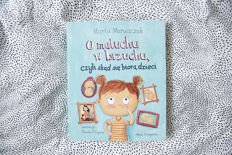 O maluchach w brzuchu, czyli skąd się biorą dzieci - książki dla 3 latka