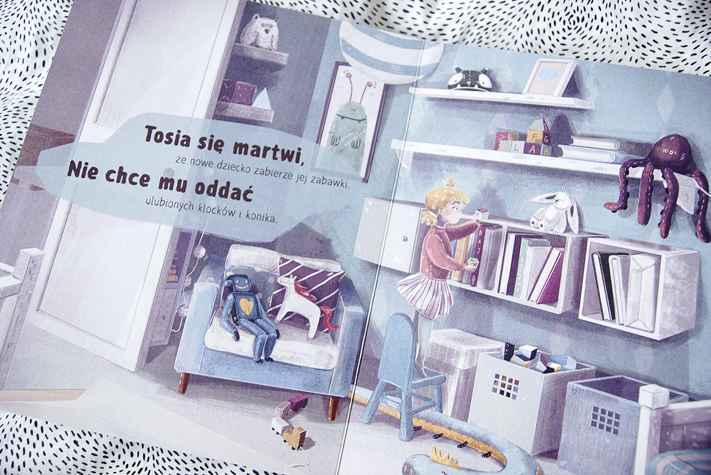 Tosia czeka na braciszka książka dla dzieci