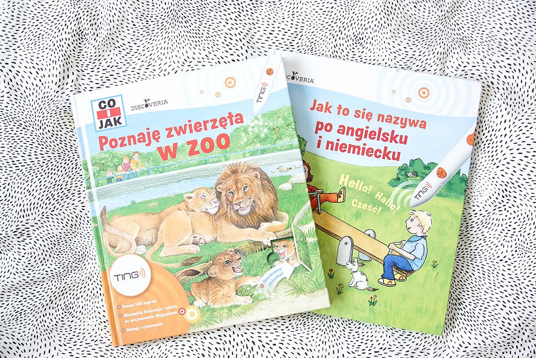 Poznaje zwierzęta w zoo, książki dla 3 i 4 latka