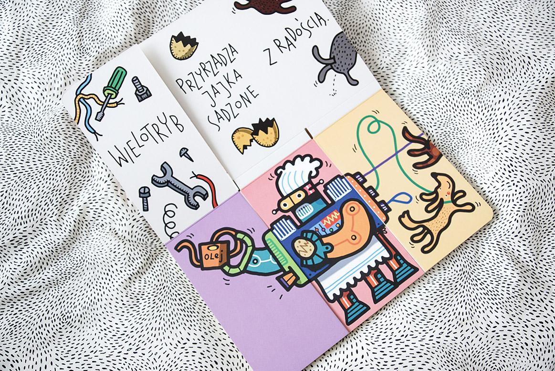 książki dla 3 i 4 latka, Roboty przyszłości