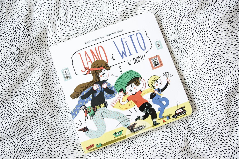 Jano i Wito w domu książki dla 3 i 4 latka, przedszkolaka