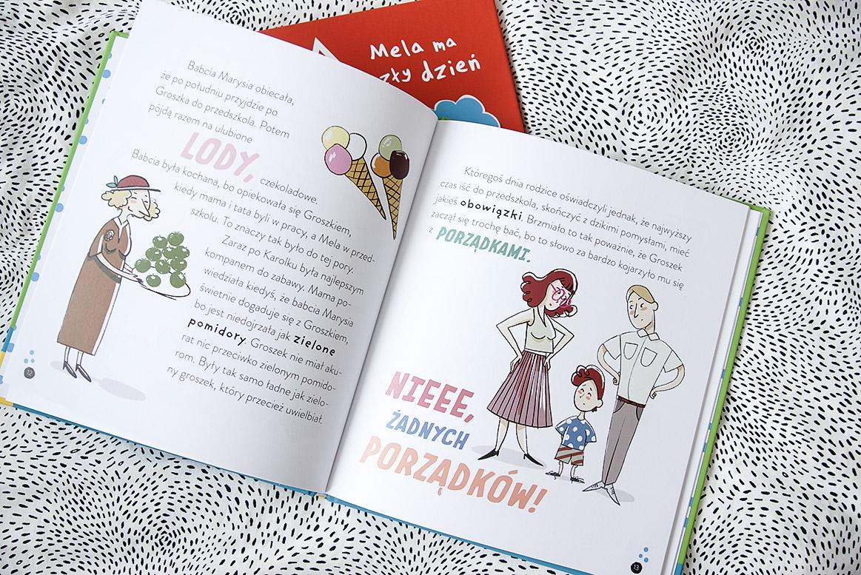 Książki dla przedszkolaka, Mela Groszek