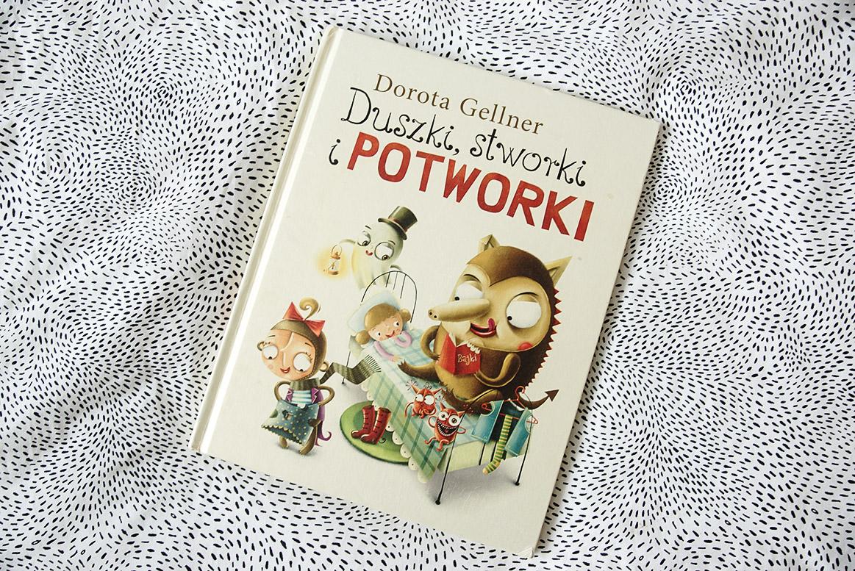 Duszki, stworki i potworki książki dla 3 i 4 latka, przedszkolaka