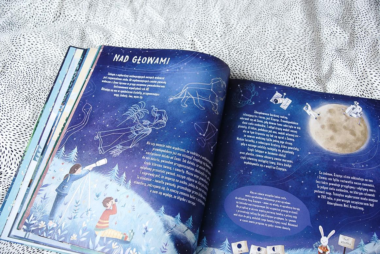 po ciemku, czyli co się dzieje w nocy, książki dla dzieci; książki dla 7-latki