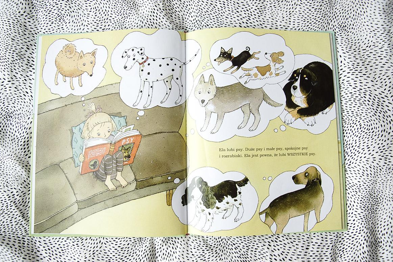 wszystkie psy Eli,, książki dla dziewczynek, książki dla 7-latki, książki dla dzieci