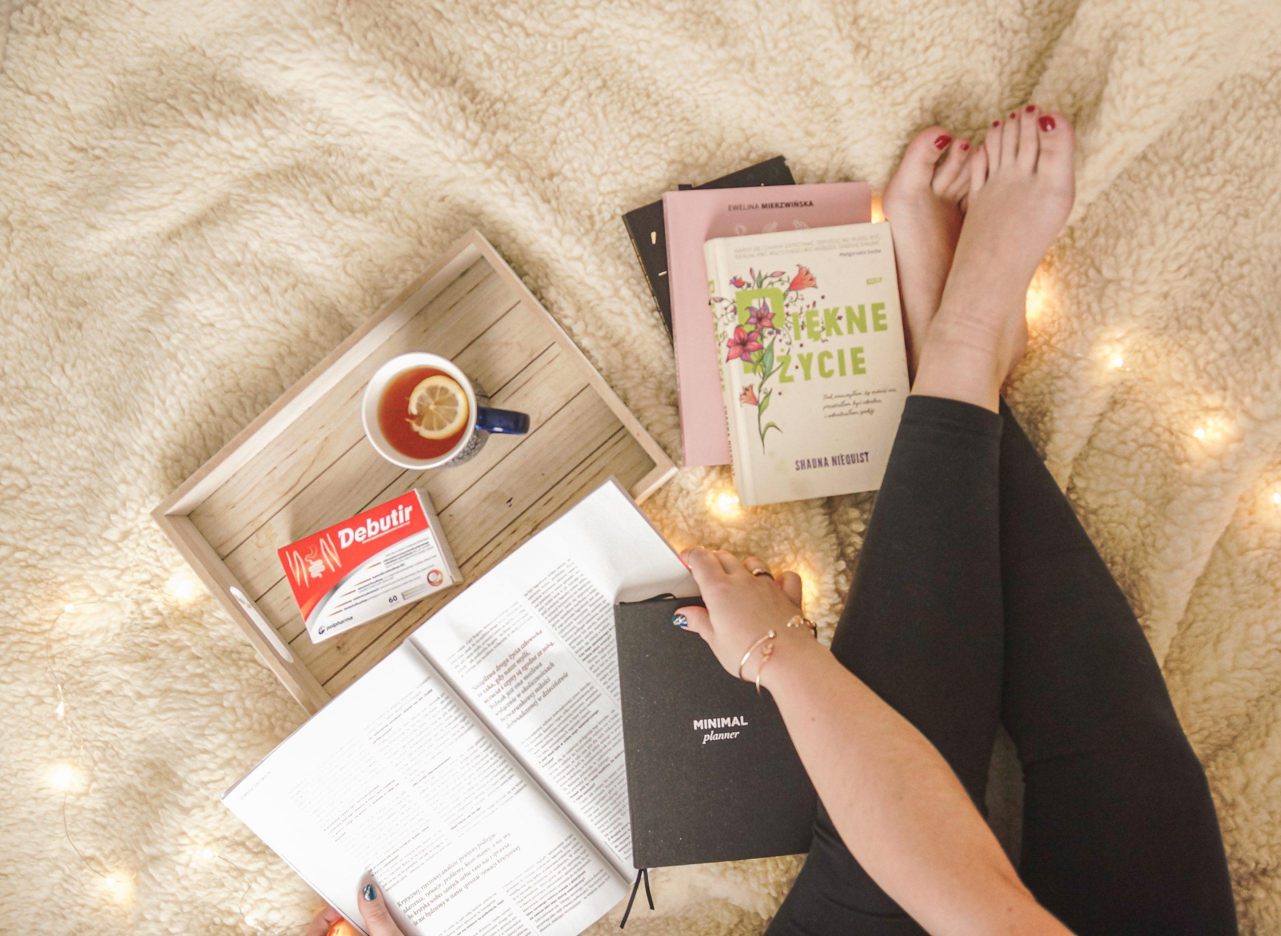 odporność, debutir, książka piękne życie, minimalplaner