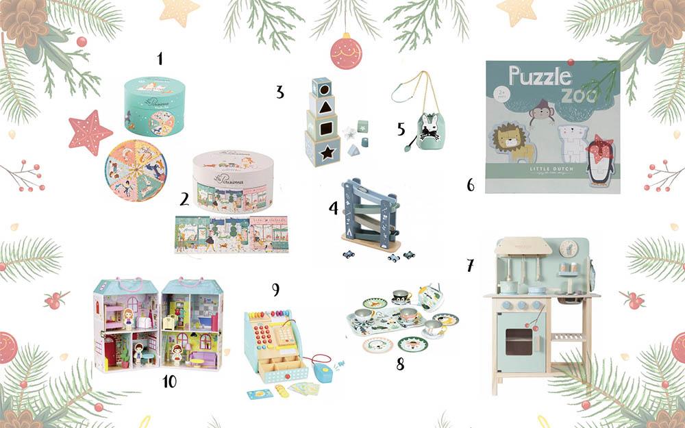 najpiękniejsze zabawki na prezent dla dziecka, moulin roty, little dutch, pastelowe zabawki drewniane