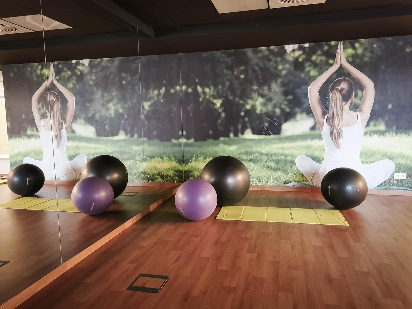 siłownia hotel tristan & spa ,joga
