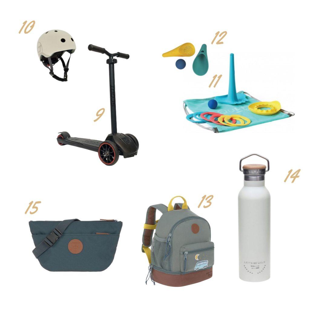 gadżety i zabawki na lato, na wakacje