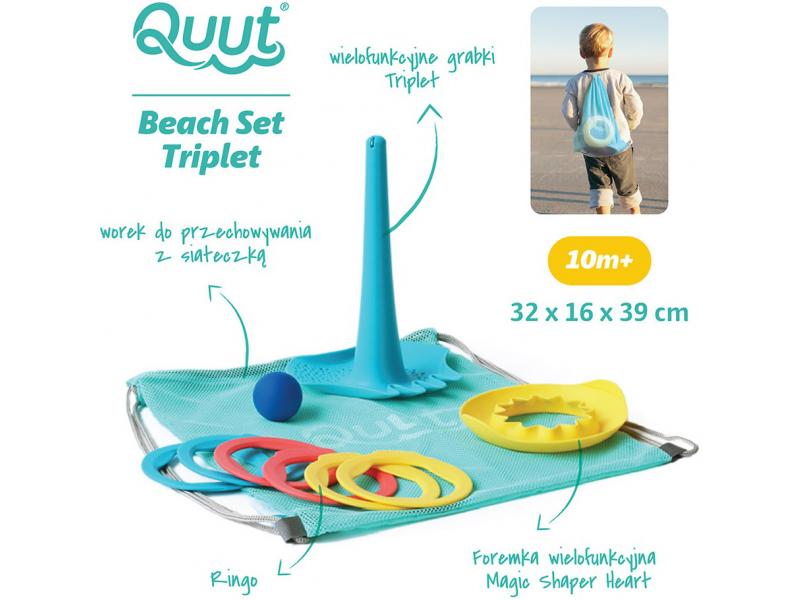 zabawki na lato, na plażę zestaw