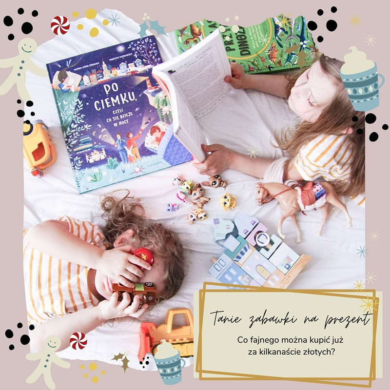Pomysł na tani prezent dla dziecka, ksiązki dla dziecka